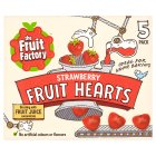 The Fruit Factory strawberry flavour fruit hearts - 5x20g Brand Price Match - Checked Tesco.com 23/04/2014