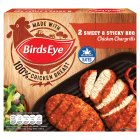 Birds Eye 2 sticky & sweet BBQ chicken chargrills frozen - 174g