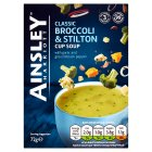 Ainsley Harriott Broccoli & Stilton Cup Soup - 72g
