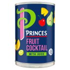 Princes fruit cocktail with juice - drained 247g