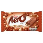 Aero Biscuit Milk Chocolate multipack - 7x17.9g Brand Price Match - Checked Tesco.com 16/07/2014