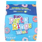 Fox's mini party rings - 6x25g Brand Price Match - Checked Tesco.com 05/03/2014