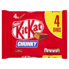 KitKat Chunky milk chocolate multipack - 4x40g Brand Price Match - Checked Tesco.com 30/03/2015