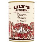 Lily's Kitchen chicken dinner for puppies