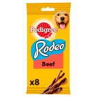 Pedigree rodeo with beef 8 sticks - 140g Brand Price Match - Checked Tesco.com 23/07/2014
