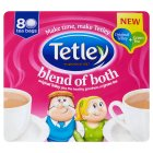 Tetley blend of both 80 tea bags - 250g