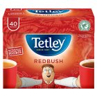 Tetley redbush 40 tea bags - 100g