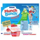 Munch Bunch Double Up strawberry & raspberry fromage frais - 4x85g