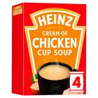Heinz chicken cup soup - 4x17g