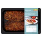 Waitrose red pepper boneless smoked mackerel fillets -