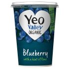 Yeo Valley organic blueberry yogurt - 450g Brand Price Match - Checked Tesco.com 05/03/2014