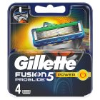 Gillette fusion proglide power blades - 3s Brand Price Match - Checked Tesco.com 16/04/2014