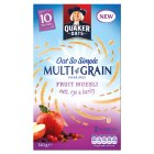 Quaker Oats So Simple multi grain fruit muesli, 10 sachets - 340g
