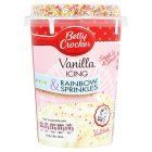 Betty Crocker icing & rainbow sprinkles - 470g