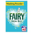 Fairy Non-Bio Washing Powder 40 Washes - 2600g Brand Price Match - Checked Tesco.com 29/07/2015