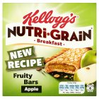 Kellogg's Nutri Grain Soft And Fruity Apple Bars - 6x37g