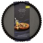 from Waitrose 23cm (9) non-stick loose base fluted quiche tin - 23cm