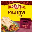 Old El Paso tomato & pepper fajitas - 500g Brand Price Match - Checked Tesco.com 16/04/2014