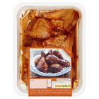 Waitrose British BBQ chicken drumsticks - 740g