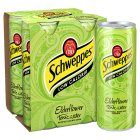 Schweppes elderflower tonic water - 4x250ml