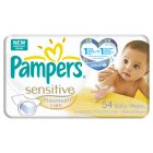Pampers sensitive baby wipes - 1x54s Brand Price Match - Checked Tesco.com 16/04/2014