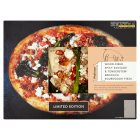 Waitrose 1 wood-fired spicy sausage & tenderstem broccoli sourdough pizza - 315g