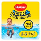 Huggies Little Swimmers Swim Nappies, size 2-3, 3-8kg - 12s