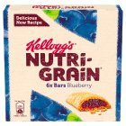 Kellogg's Nutri Grain 6 Blueberry Bars - 6x37g