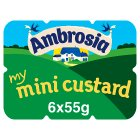Ambrosia my mini custard - 6x55g Brand Price Match - Checked Tesco.com 25/05/2015
