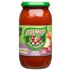 Dolmio extra onion & garlic bolognese sauce - 500g Brand Price Match - Checked Tesco.com 10/03/2014