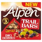 Alpen trail bars big berries - 3x48g Brand Price Match - Checked Tesco.com 02/03/2015