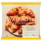 Waitrose Frozen 8 butter croissants - 440g
