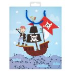 Waitrose pirate medium gift bag -