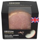 Waitrose Heston mulled cider gammon - per kg