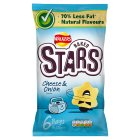 Walkers Baked Stars Cheese & Onion 6x23g - 6x23g