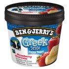 Ben & Jerry's Greek style frozen yogurt strawberry shortcake - 150ml