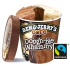 Ben & Jerry's Core dough-ble whammy ice cream