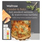 Delisante hot smoked salmon & watercress tartlets - 260g