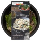 menu from Waitrose Creamy mushroom risotto - 400g