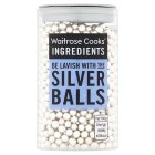 Waitrose Cooks' Homebaking silver balls - 92g