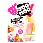 Yoo Moo frozen yogurt lollies - 6x55ml