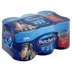 Butcher's salmon, chicken & duck in jelly chunks - 6x400g Brand Price Match - Checked Tesco.com 05/03/2014