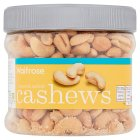 Waitrose roasted salted cashews - 400g