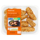 Waitrose Cod Goujons in Salt & Vinegar Breadcrumbs - 220g