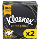 Kleenex Mansize Tissues, compact box twin pack - 2x50 sheets