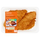 Waitrose 2 plaice fillets in breadcrumbs
