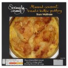 Seriously creamy almond crossiant bread & butter pud - 400g