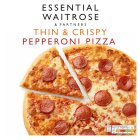 essential Waitrose pepperoni pizza - 305g
