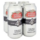 Stella Artois triple filtered - 4x440ml Brand Price Match - Checked Tesco.com 26/03/2015