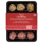 Waitrose pork stuffing selection - apricot, cranberry & almond